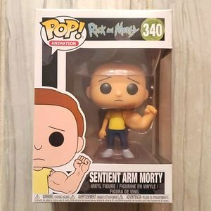 Rick and Morty Sentient Arm Morty Funko #340